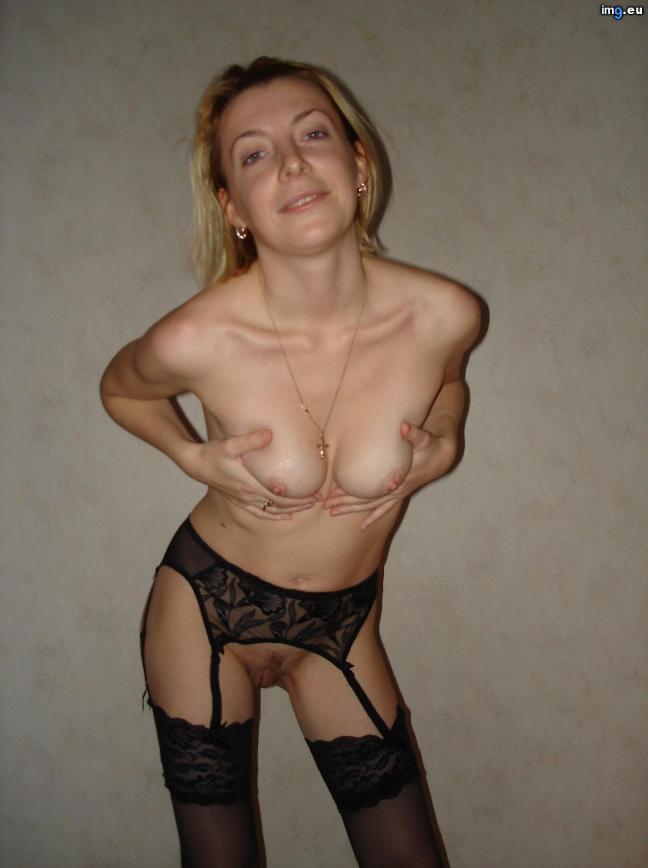 Amateur Blonde Sucks & Fucked, HD photo 54 - porn