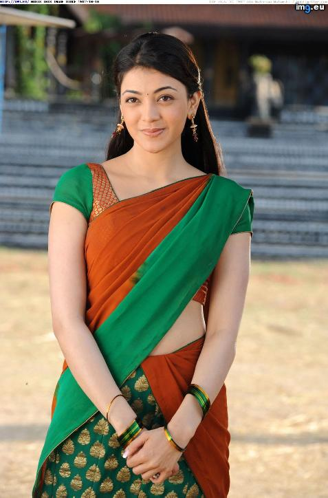 kajal-agarwal-hot-saree-still-009