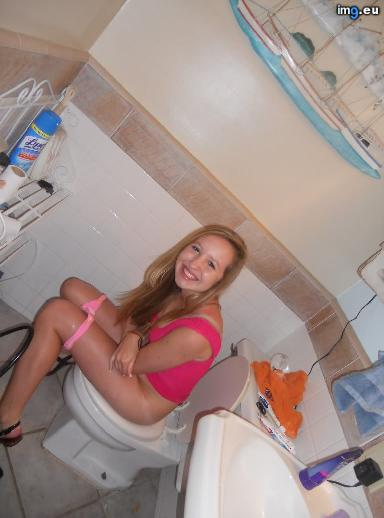 Young Teen Girls Pissing On Toilets 94 (WC toilet bowl peeing porn)
